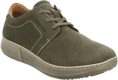 Josef Seibel Louis 01 Lace Mens Shoes Green